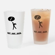 Bacon Lover Drinking Glass