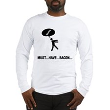 Bacon Lover Long Sleeve T-Shirt