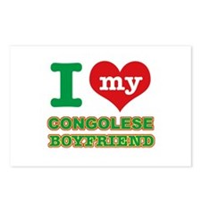 I love my Congolese Boyfriend Postcards (Package o