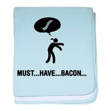Bacon Lover baby blanket
