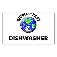 World's Best Dishwasher Decal