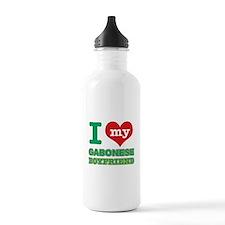 I love my Gabonese Boyfriend Water Bottle