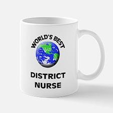World's Best District Nurse Mug
