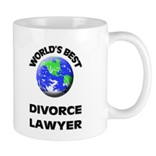 World's Best Divorce Lawyer Small Mug