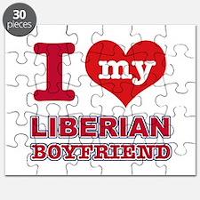 I love my Liberian Boyfriend Puzzle