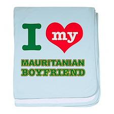 I love my Mauritanian Boyfriend baby blanket