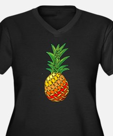 Pineapple Goddess Proportioned T-Shirt