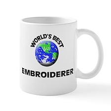 World's Best Embroiderer Mug