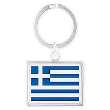 Flag of Greece Keychains