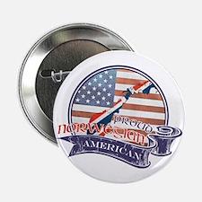 "Proud Norwegian American 2.25"" Button"