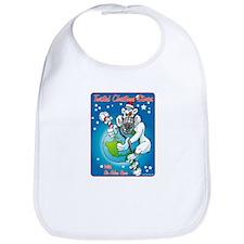 Bi-Polar Bear Xmas Bib