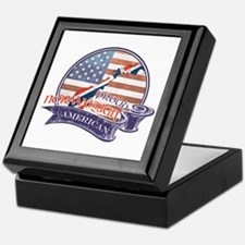 Proud Norwegian American Keepsake Box