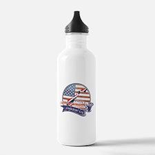 Proud Norwegian American Water Bottle