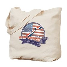 Proud Norwegian American Tote Bag