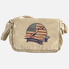 Proud Norwegian American Messenger Bag