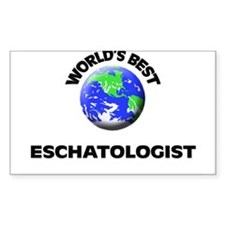 World's Best Eschatologist Decal