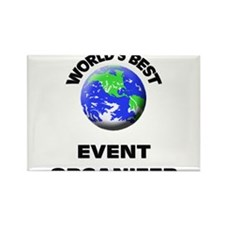 World's Best Event Organizer Rectangle Magnet