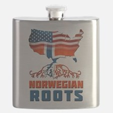American Norwegian Roots Flask