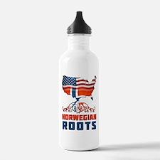 American Norwegian Roots Water Bottle