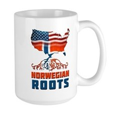 American Norwegian Roots Mug