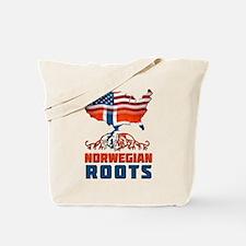 American Norwegian Roots Tote Bag