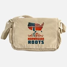 American Norwegian Roots Messenger Bag