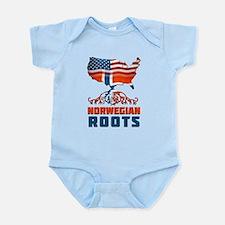 American Norwegian Roots Body Suit