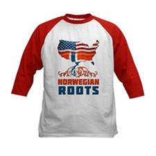 American Norwegian Roots Baseball Jersey