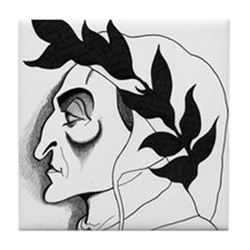 Dante Alleghieri Tile Coaster
