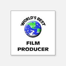 World's Best Film Producer Sticker