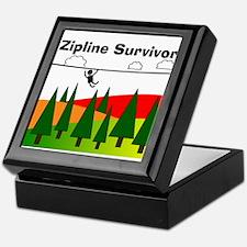 Zipline Survivor Keepsake Box