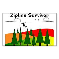 Zipline Survivor Decal