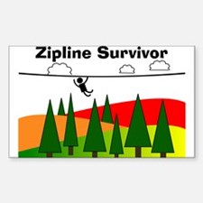 Zipline Survivor Decal