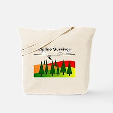 Zipline Survivor Tote Bag