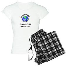 World's Best Financial Analyst Pajamas