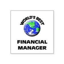 World's Best Financial Manager Sticker