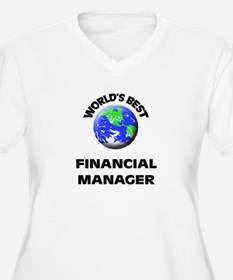 World's Best Financial Manager Plus Size T-Shirt