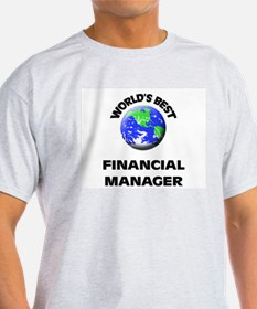 World's Best Financial Manager T-Shirt