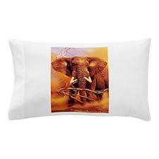 African bush elephant Pillow Case
