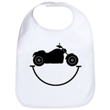 Happy Biker Bib