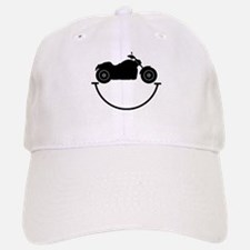 Happy Biker Baseball Baseball Cap