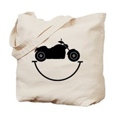 Happy Biker Tote Bag
