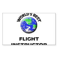 World's Best Flight Instructor Decal
