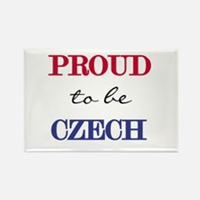 Czech Pride Rectangle Magnet