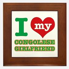 I love my Congolese Boyfriend Framed Tile