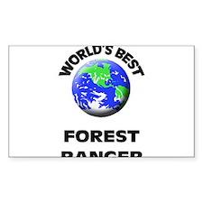World's Best Forest Ranger Decal
