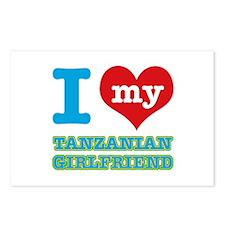 I love my Tanzanian Boyfriend Postcards (Package o