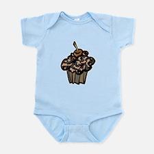 Camo Camouflage Cupcake Infant Bodysuit