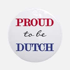 Dutch Pride Ornament (Round)
