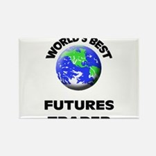 World's Best Futures Trader Rectangle Magnet